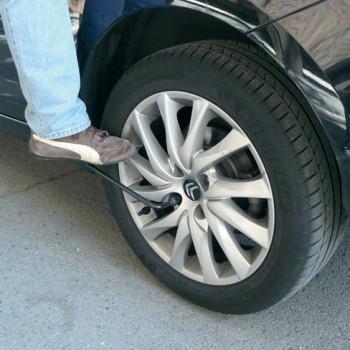 cambiar una rueda