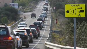Dónde estan situados los radares de las carreteras españolas