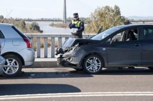 Reclamación de indemnización por accidente de tráfico.