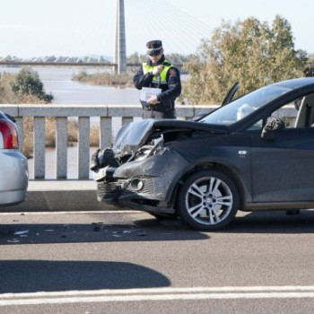 Reclamación por accidente de tráfico.