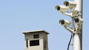 Situación de 225 cámaras que controlan el cinturón de seguridad