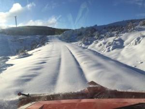 estado de las carreteras tras el temporal
